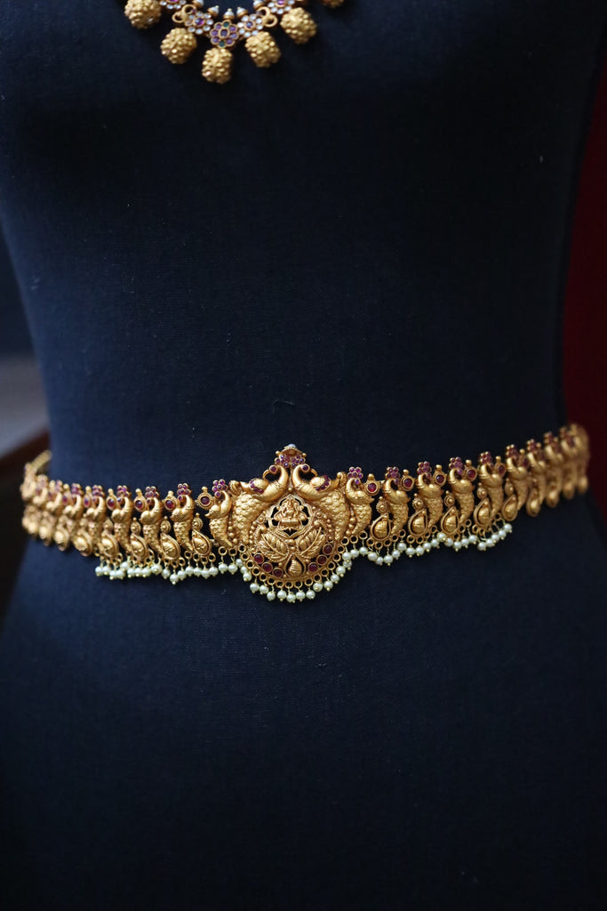 ANTIQUE TEMPLE WAISTCHAIN / HIP CHAIN / LONG NECKLACE 29