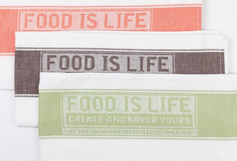 Towel Food is Life Logo