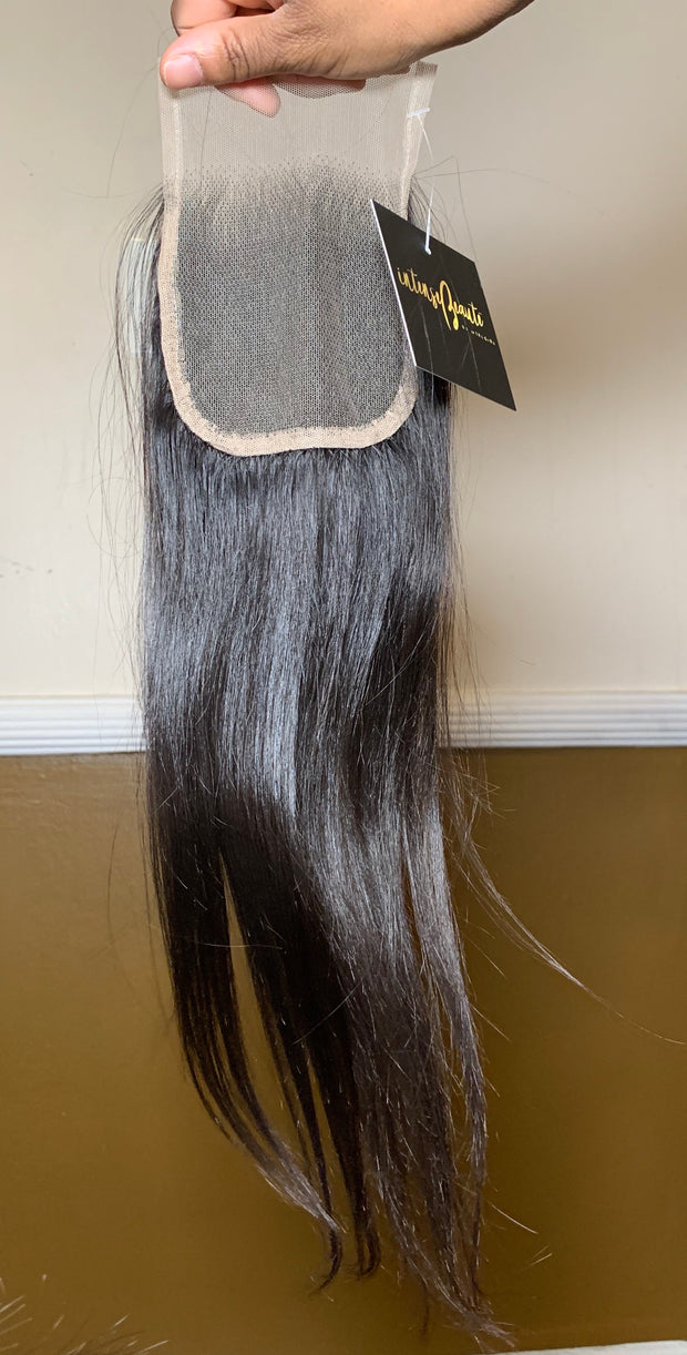 Straight B0$$ Lace Closure (753124245623)
