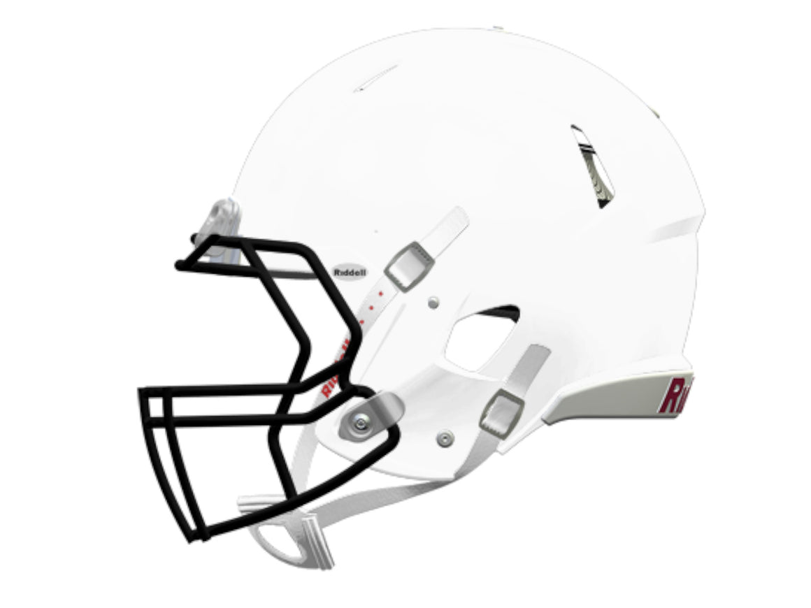 CASCO RIDDELL SPEED YOUTH BLANCO SUPERIOR/CABEZA RIDDELL- Nerias Deportes Fútbol Americano