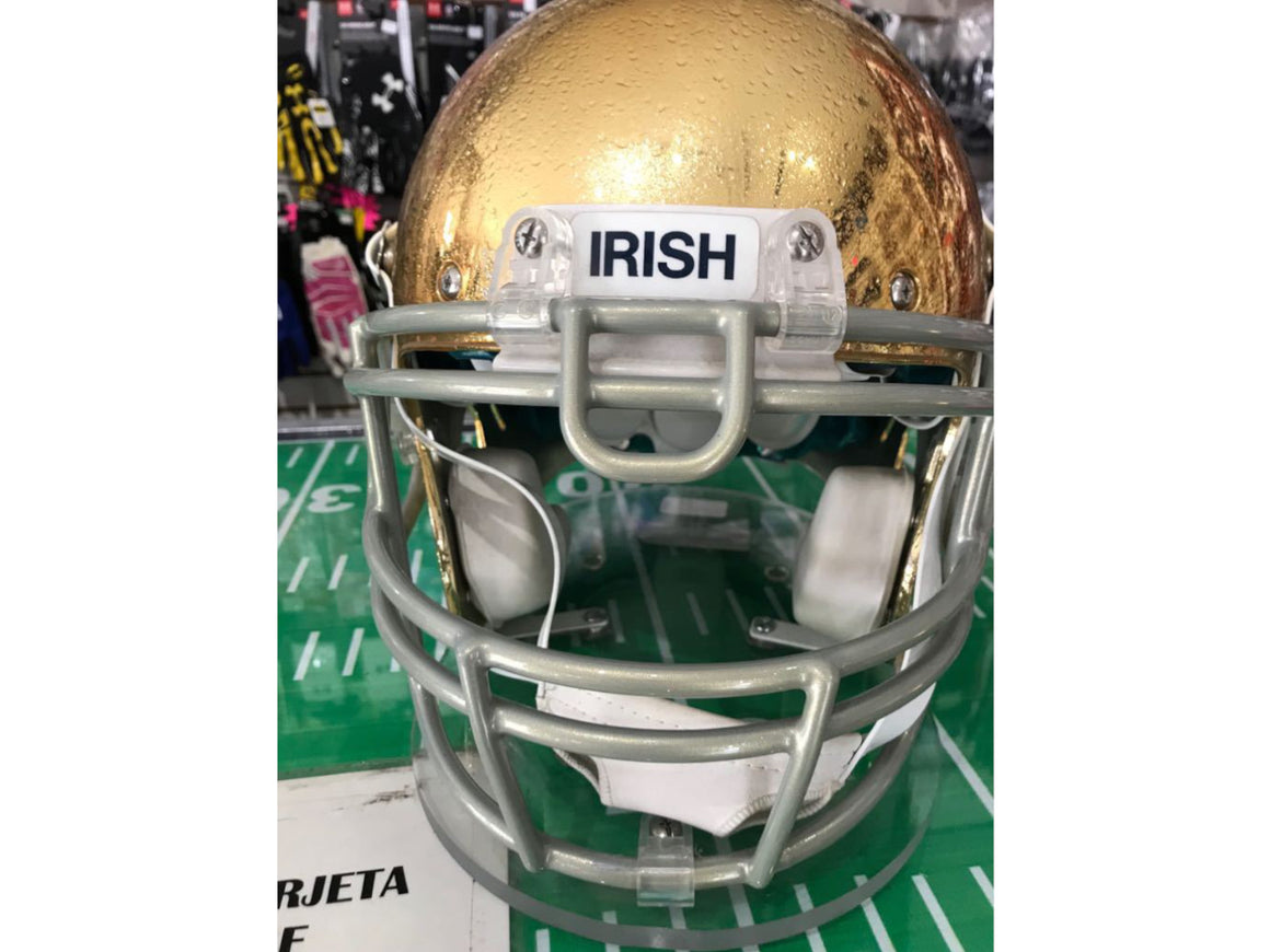 CASCO SCHUTT PRO NOTRE DAME IRISH GOLD CHROME - ORIGINAL