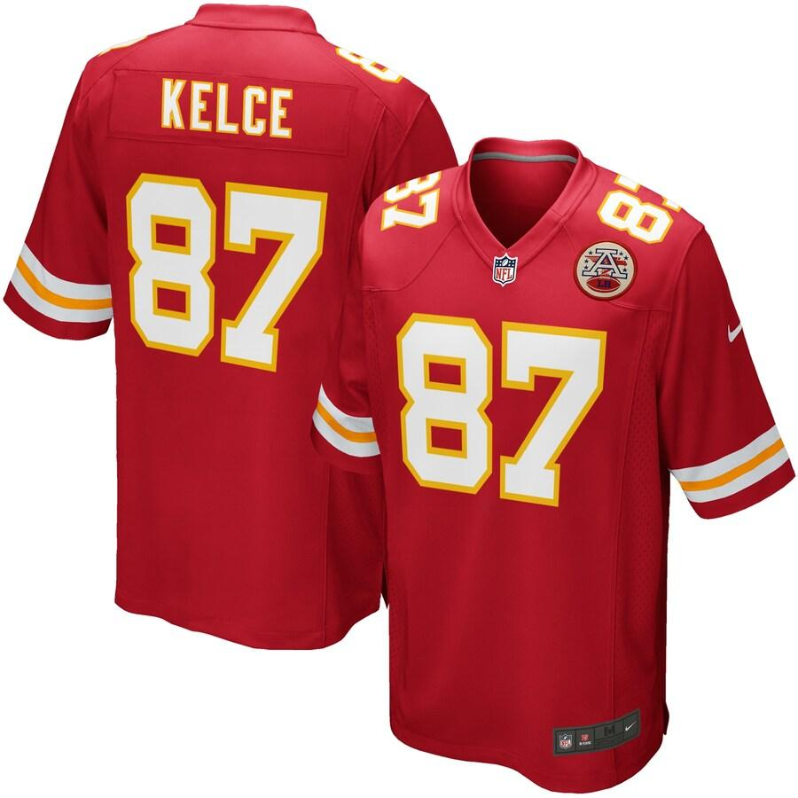 JERSEY GAME CHIEFS KELCE TC HOMBRE
