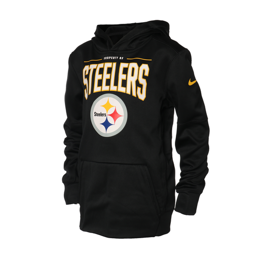 SUDADERA NK 19 THERMA YTH STEELERS NIÑO
