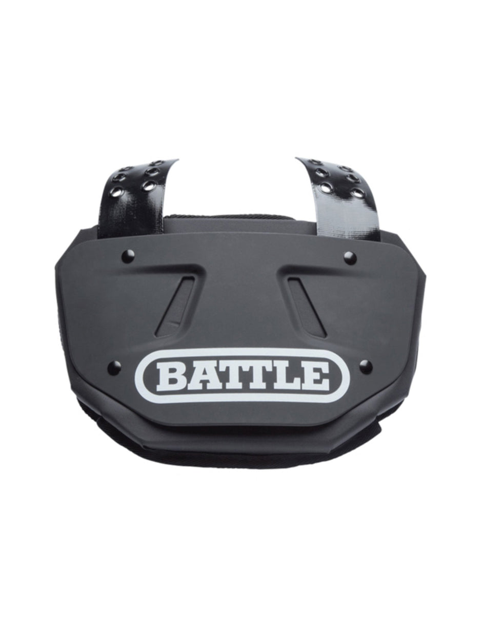 BACK PLATE BATTLE INFANTIL NEGRO