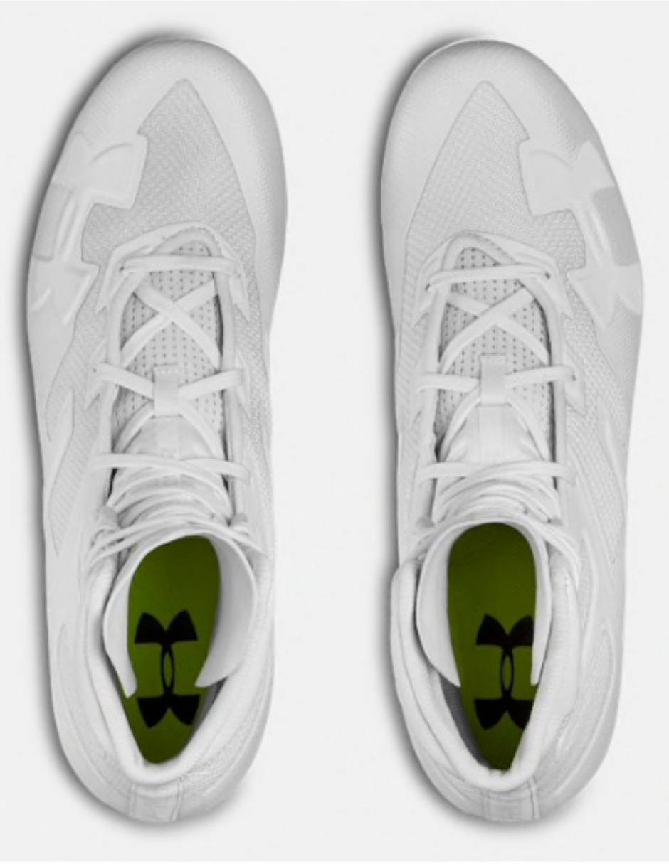 ZAPATO CLEATS UNDER ARMOUR HIGHLIGHT MC18 ADULTO BLANCO