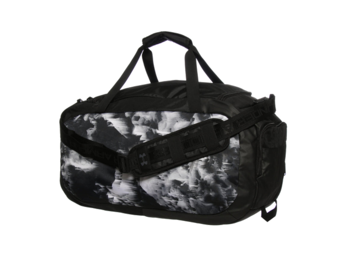 MALETA UNDER ARMOUR UNDENIABLE DUFFLE CAMO MEDIANA NEGRA