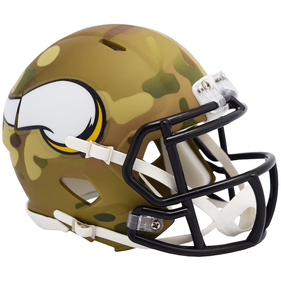 CASCO RIDDELL MINI SPEED CAMO VIKINGS