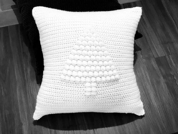 Christmas Pillow Crochet Pattern