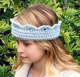 Child Tiara Crochet Pattern