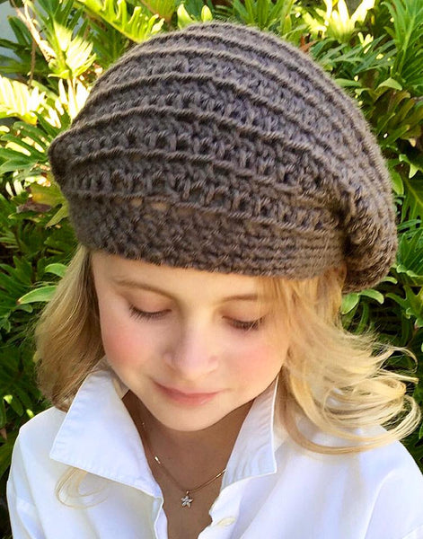 girls women's winter hat pattern