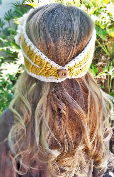 female headband crochet pattern