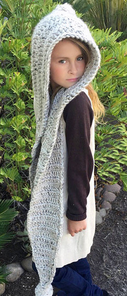 Snood Scarf Crochet Pattern