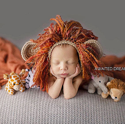 Baby Lion Hat Crochet Pattern