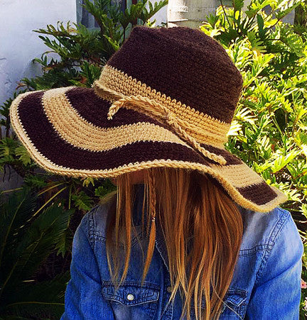 floppy hat crochet pattern