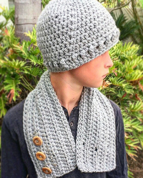 Hat Neck Warmer Crochet Pattern - Grayson Set