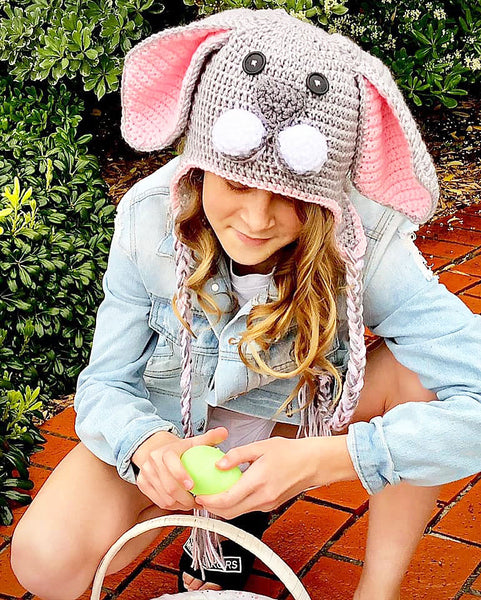 Easter Earflap Crochet Pattern