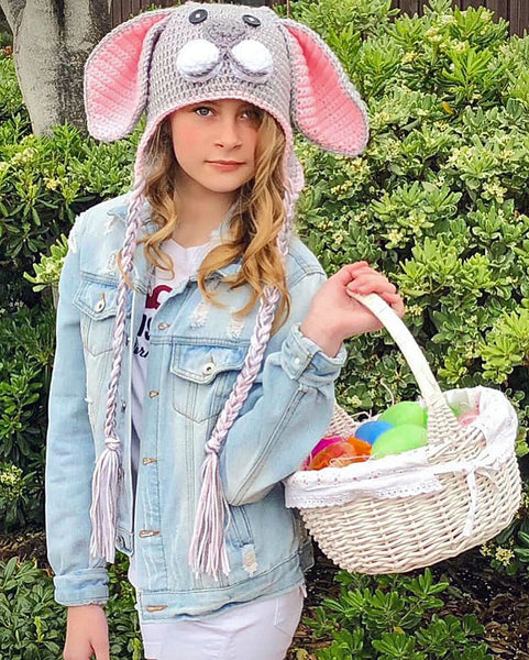 Peter Rabbit Bunny Hat Crochet Pattern