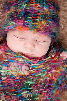 Knifty Knitter baby pattern