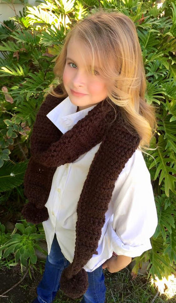 women's scarf crochet pattern
