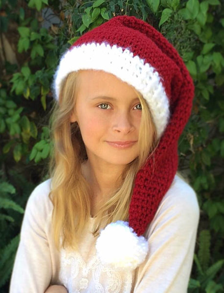 Holiday Hat Crochet Pattern