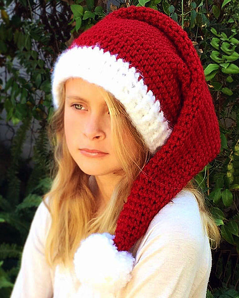 Santa Elf Hat Crochet Pattern