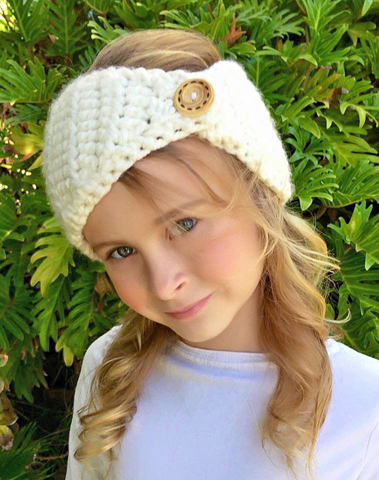head warmer crochet pattern