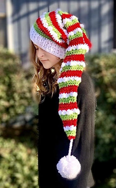 Christmas Santa Hat Crochet Pattern