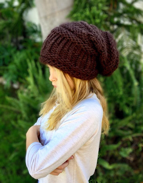 Slouchy Hat Loom Pattern