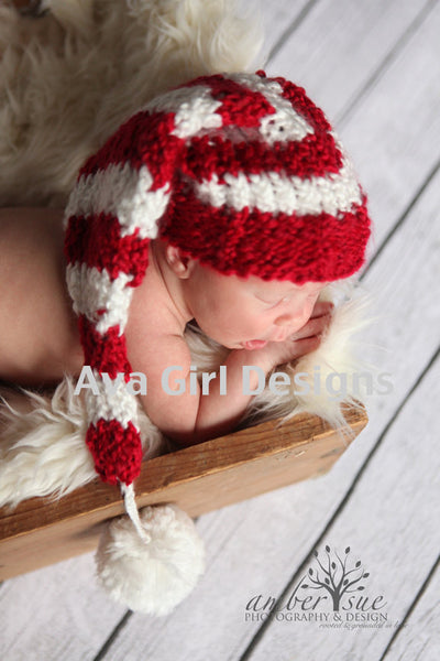 Baby Christmas Hat Loom Pattern