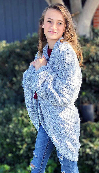 Oversized Cardigan Crochet Pattern