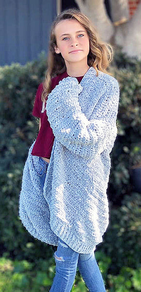 Beginner Cardigan Crochet Pattern