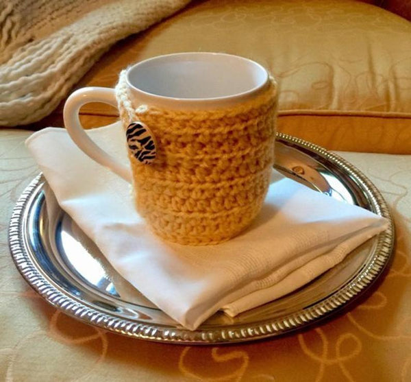 Coffee Cup Cozy Crochet Pattern - Snuggle Up Cozy