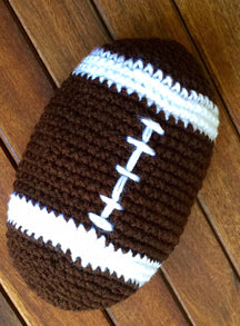 Plush Football Crochet Pattern