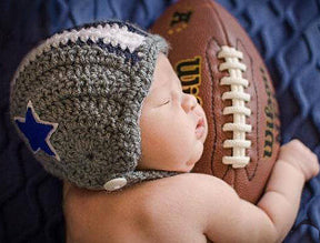 baby football helmet
