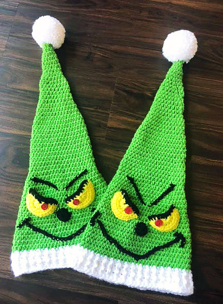 Grinch Christmas Hats
