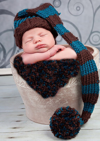 Baby elf hat knifty knitter loom pattern