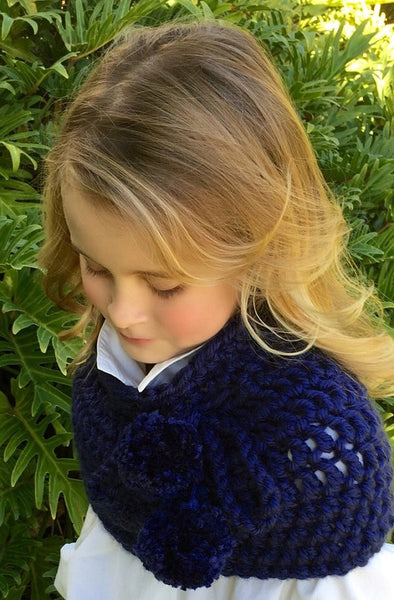 Girl Cowl Crochet Pattern