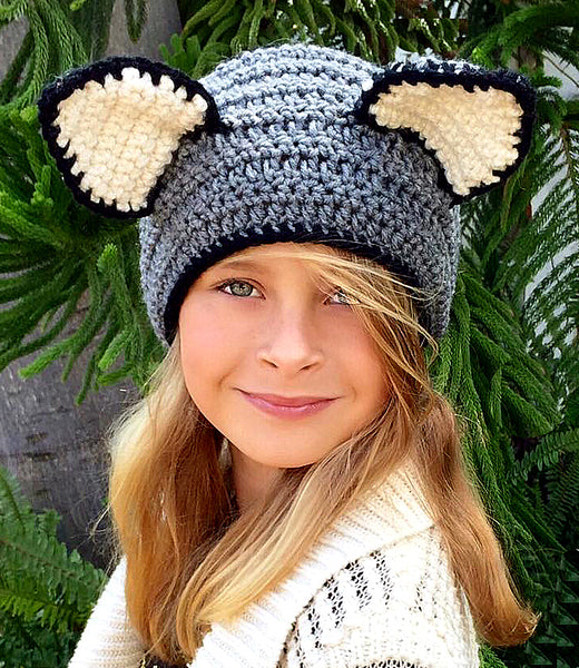 Kitty Headband Crochet Pattern