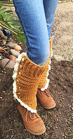 Leg Warmer Crochet Pattern