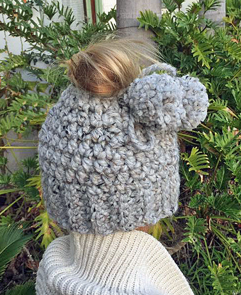 Bun Hat Crochet Pattern