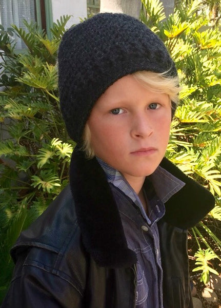 crochet pattern boys slouchy hat