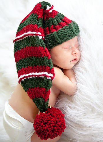 elf hat loom pattern