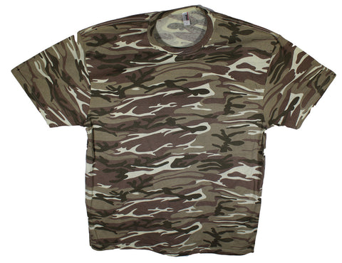 NEW Anvil Camouflage T-Shirt Sizes XL, 2XL & 3XL - 2 Colors