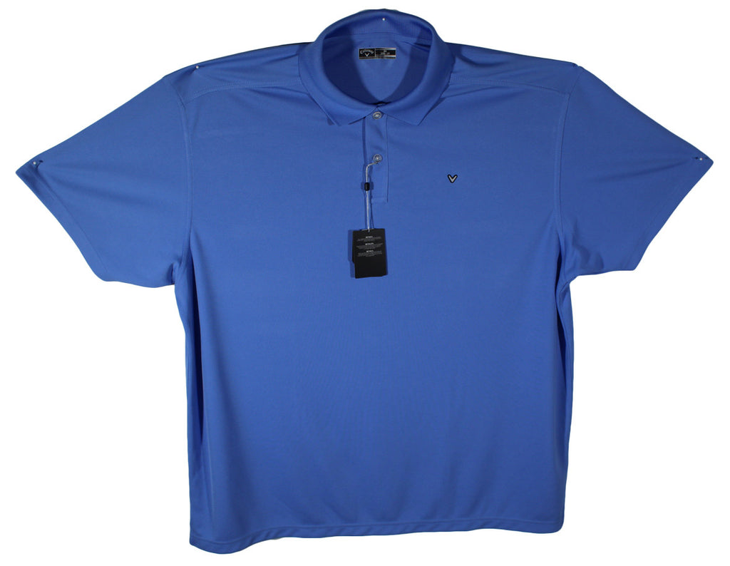 NEW Callaway Light Blue Performance Golf Polo Size 2XL