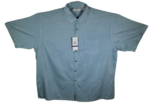 NEW Campia Moda Short Sleeve Shirts - 75% Rayon Size 2XL - 3 Colors