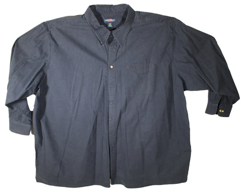 Canyon Ridge Dark Blue Heavy Material Long Sleeve Shirt Size 5XL
