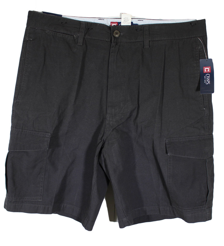 NEW Chaps Black Cargo Casual Shorts - Size 36