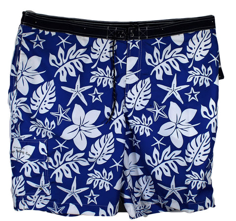 NEW Chaps Floral Swim Trunks Sizes 2XLT & 3XL - 2 Colors