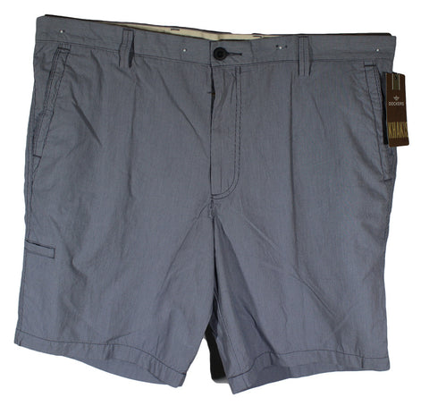 NEW Dockers Small Blue Striped Casual Shorts - Size 40 & 42