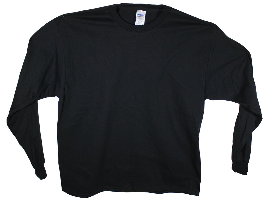 New Gildan Long Sleeve T-Shirt 2400 Sizes XL, 2XL, 3XL, 4XL & 5XL - 6 Colors